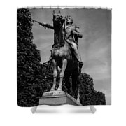 Simon Bolivar Shower Curtain