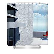 Simple Pleasures  Shower Curtain