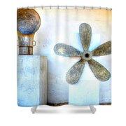 Simple Sculptures Shower Curtain