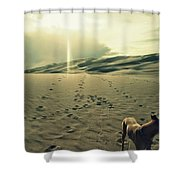 Simple Together Shower Curtain