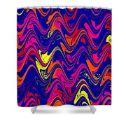 Simply Abstract Shower Curtain