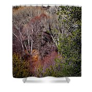 Simply Art Of Nature Shower Curtain