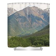 Simply Colorado 2 Shower Curtain