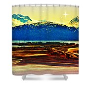 Simply Divine Shower Curtain