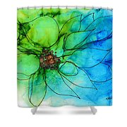 Simply Floral Shower Curtain