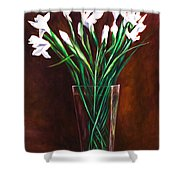 Simply Iris Shower Curtain
