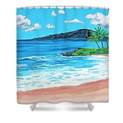 Simply Maui 18 X 24 Shower Curtain