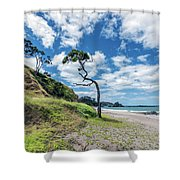 Simply New Zealand Shower Curtain