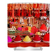 Simply Red Shower Curtain