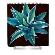 Simply Succulent Shower Curtain
