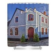 Simrishamn Townhouse Shower Curtain