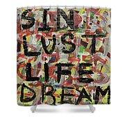 Sin Shower Curtain