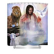 Since Before Abraham I Am Shower Curtain