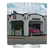 Sinclair Gasoline Shower Curtain