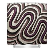 Cosine Shower Curtain