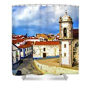 Sines Portugal Shower Curtain
