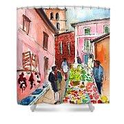 Sineu Market In Majorca 05 Shower Curtain