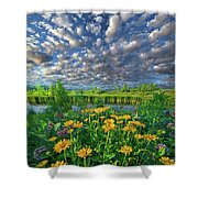 Sing For The Day Shower Curtain