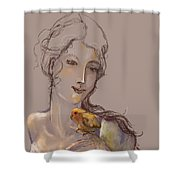 Sing Me A Song Shower Curtain