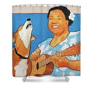 Sing To Me Shower Curtain