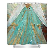 Sing Your Heart Out Angel Shower Curtain
