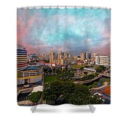 Singapore Rochor Commercial And Residential Mixed Area Shower Curtain