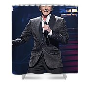 Singer Barry Manilow Shower Curtain