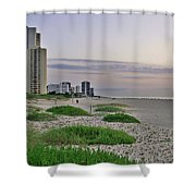 Singer Island Florida Beach Shower Curtain