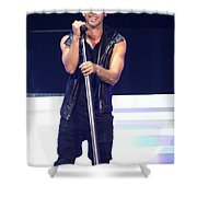 Singer Prince Royce Shower Curtain