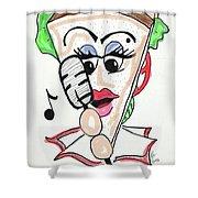 Singer Sandwich Shower Curtain
