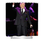 Singer Tony Bennett Shower Curtain