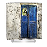 Singin' The Blues Shower Curtain
