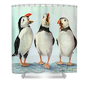 Singing Shower Curtain by Phyllis Howard