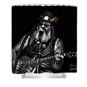 Singing Strings Shower Curtain