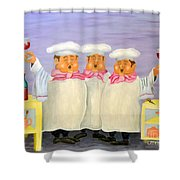 Singing Tenorloins Shower Curtain