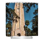 Singing Tower Shower Curtain