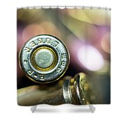 Single Luger Shower Curtain
