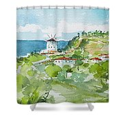 Single Mill... Shower Curtain