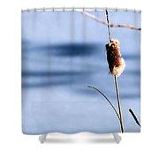 Single Stem Shower Curtain
