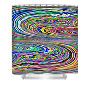 Sinuous Beauty Shower Curtain