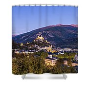 Sion At Night Shower Curtain