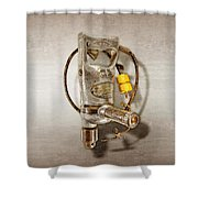 Sioux Drill Motor 1/2 Inch Shower Curtain