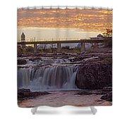 Sioux Falls Sunset Shower Curtain