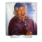 Sioux Kokom  Shower Curtain