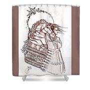 Sioux Wind Shower Curtain