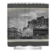 Siphon Draw Livery  Shower Curtain