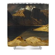 Sir Edwin Henry Shower Curtain