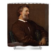 Sir Frederick Leighton By George Shower Curtain