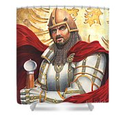 Sir Gawain Shower Curtain