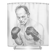 Sir Henry Cooper Obe Shower Curtain